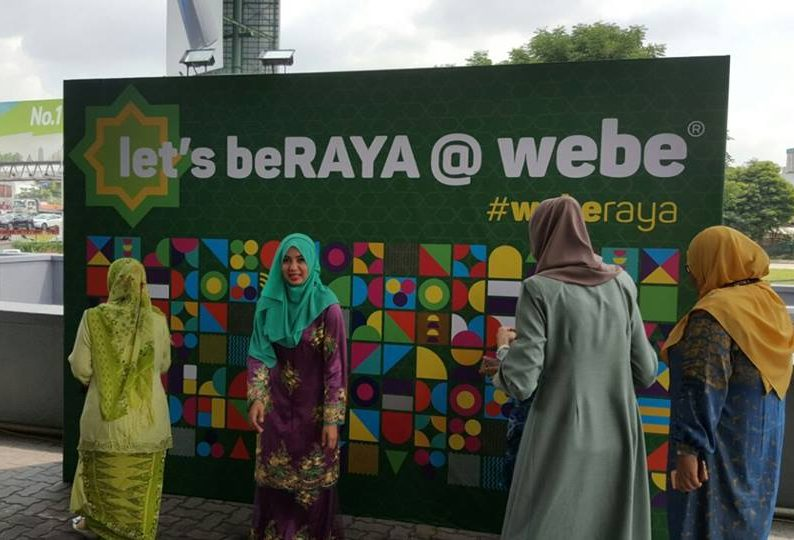 Let's beRAYA @ Webe