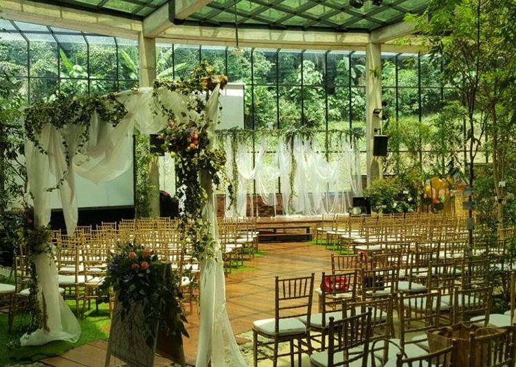 Garden Wedding @ Seputeh Glasshouse