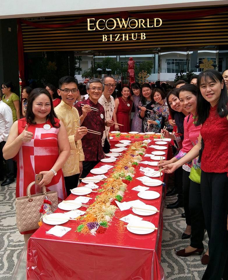 Eco Sky's CNY celebration