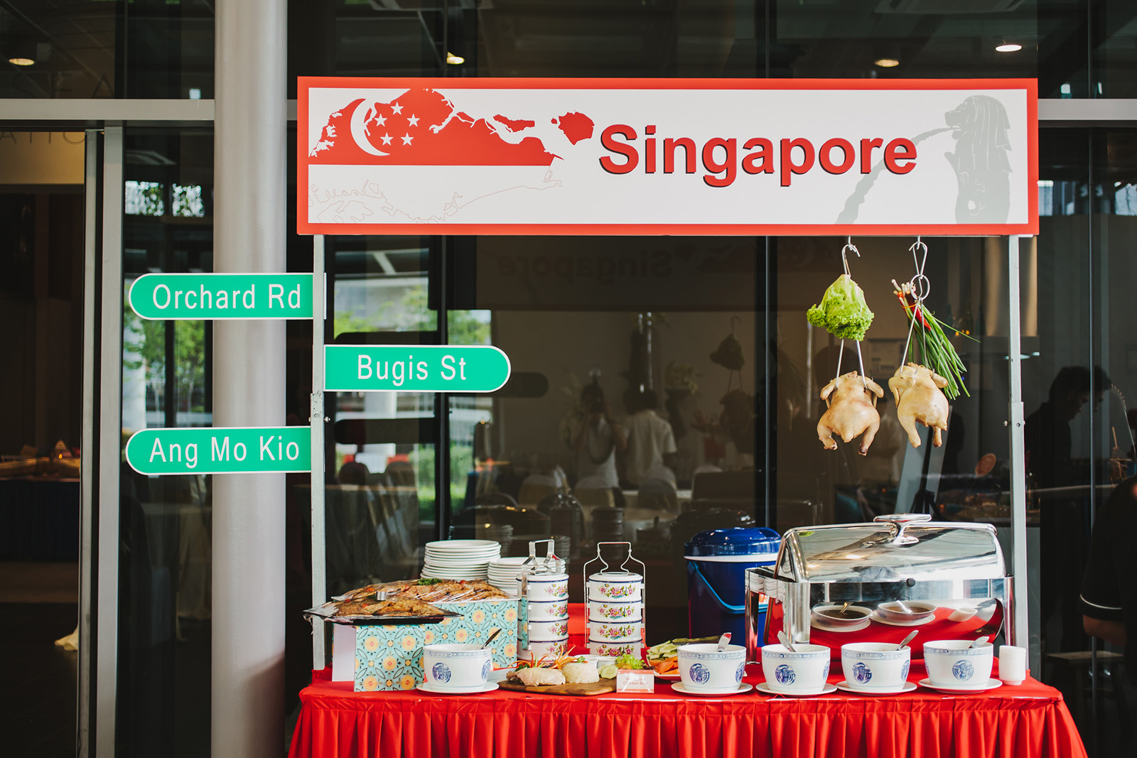 Hawker stalls catering kl food services in